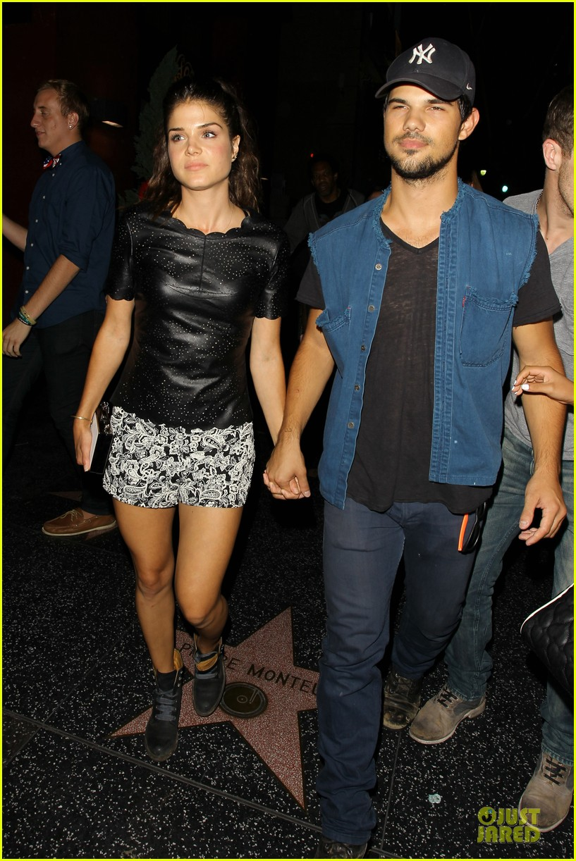 taylor lautner marie avgeropoulos strong hollywood 013181552
