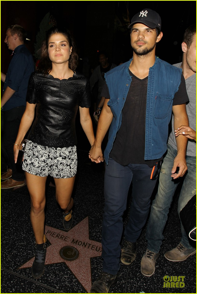 taylor lautner marie avgeropoulos strong hollywood 063181557