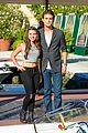 paul wesley fatima ptacek venice kick off party photo call 08