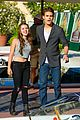 paul wesley fatima ptacek venice kick off party photo call 10