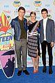 shailene woodley reunites with tfios cast members at teen choice awards 2014 03