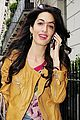 amal alamuddin goes for a fitting at alexander mcqueen 02