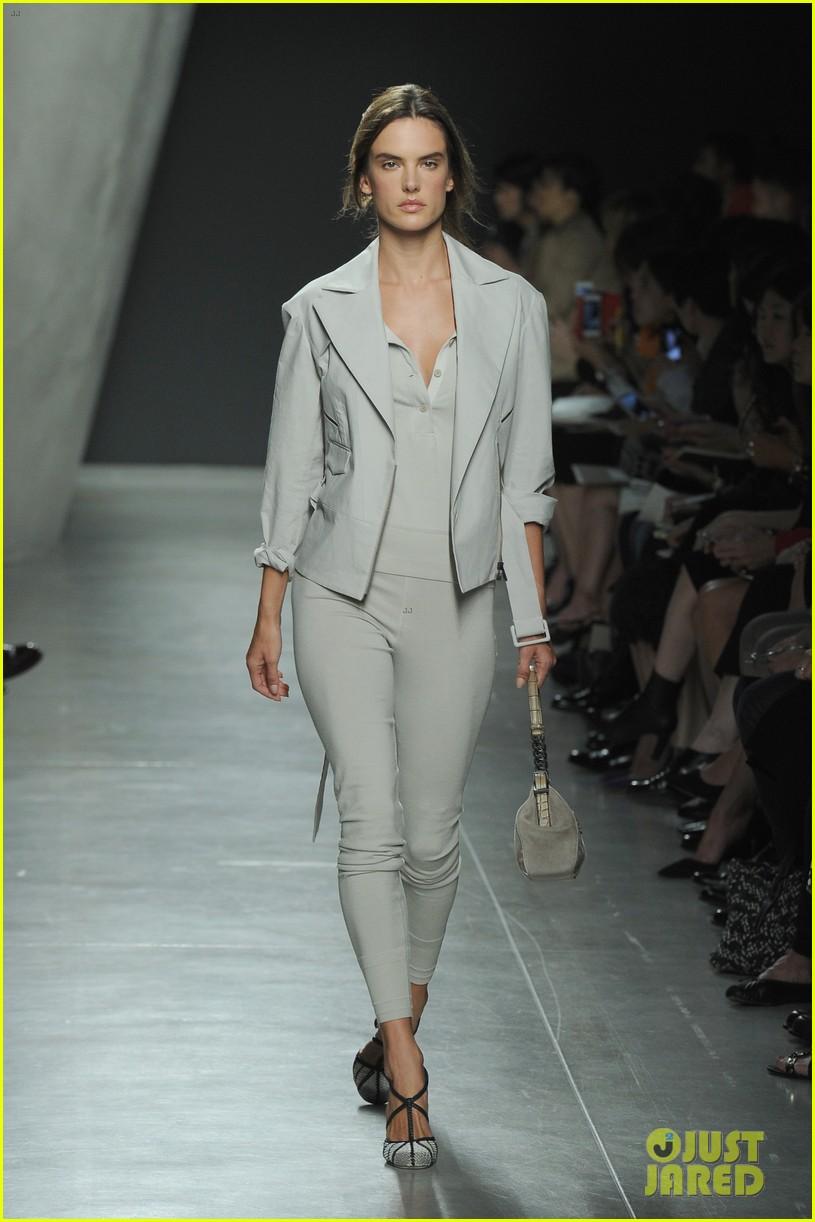 alessandra ambrosio fashion replay during milan fashion week 073201084