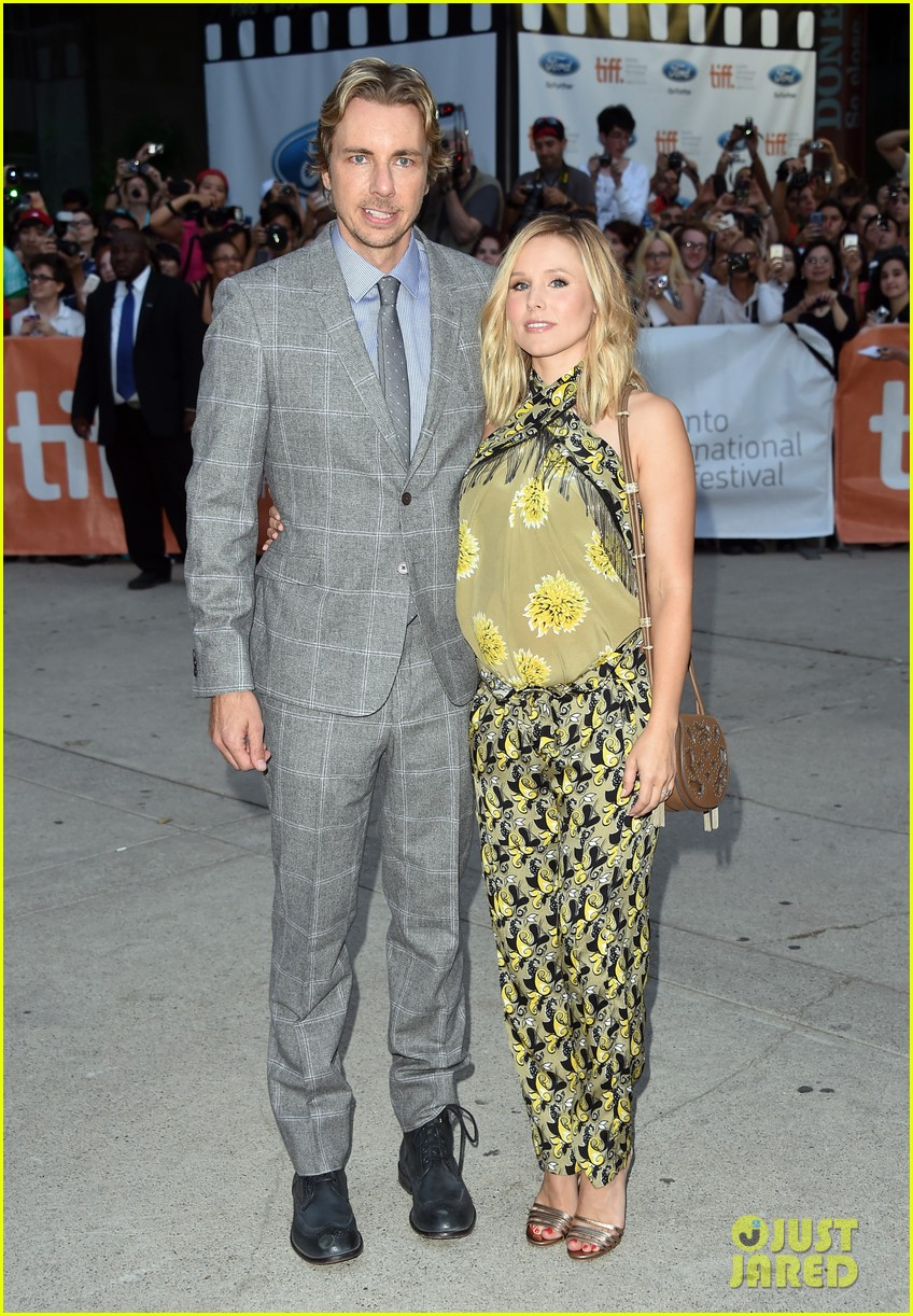 kristen bell dax shepard the judge tiff premiere 053189501