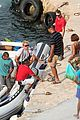 bikini clad beyonce jay z vacation with their families 15
