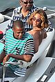 bikini clad beyonce jay z vacation with their families 22