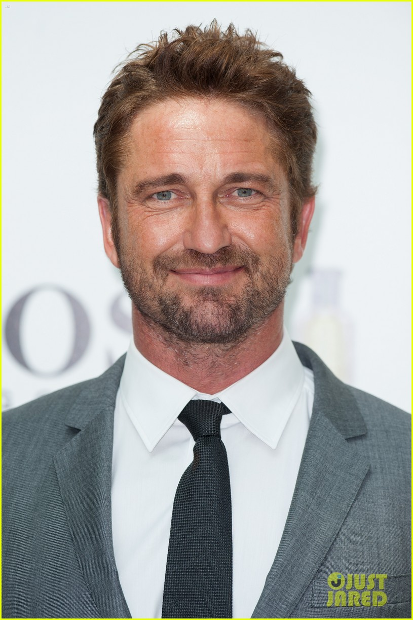 gerard butler unveiled as face of boss bottled 033187711