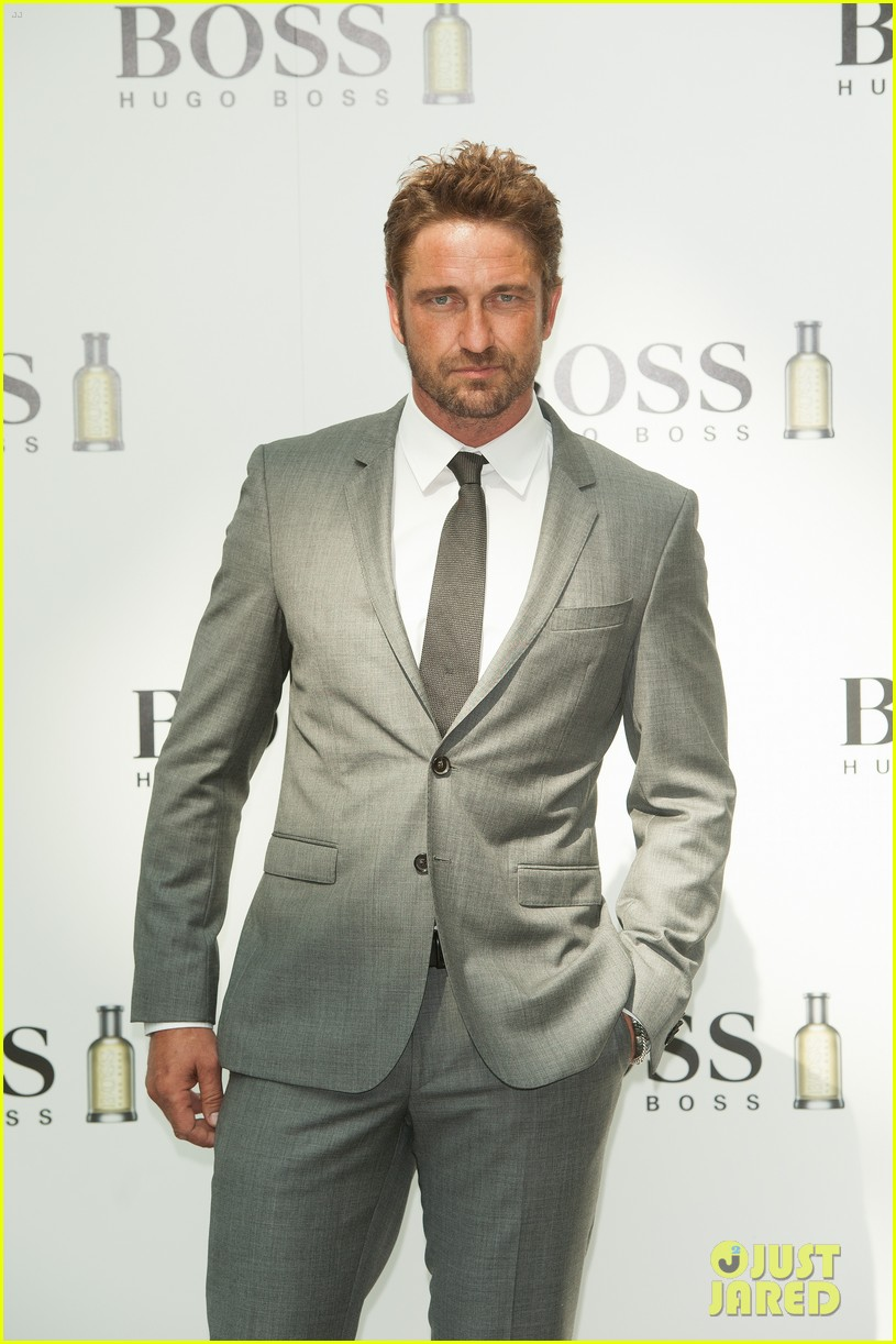 gerard butler unveiled as face of boss bottled 13