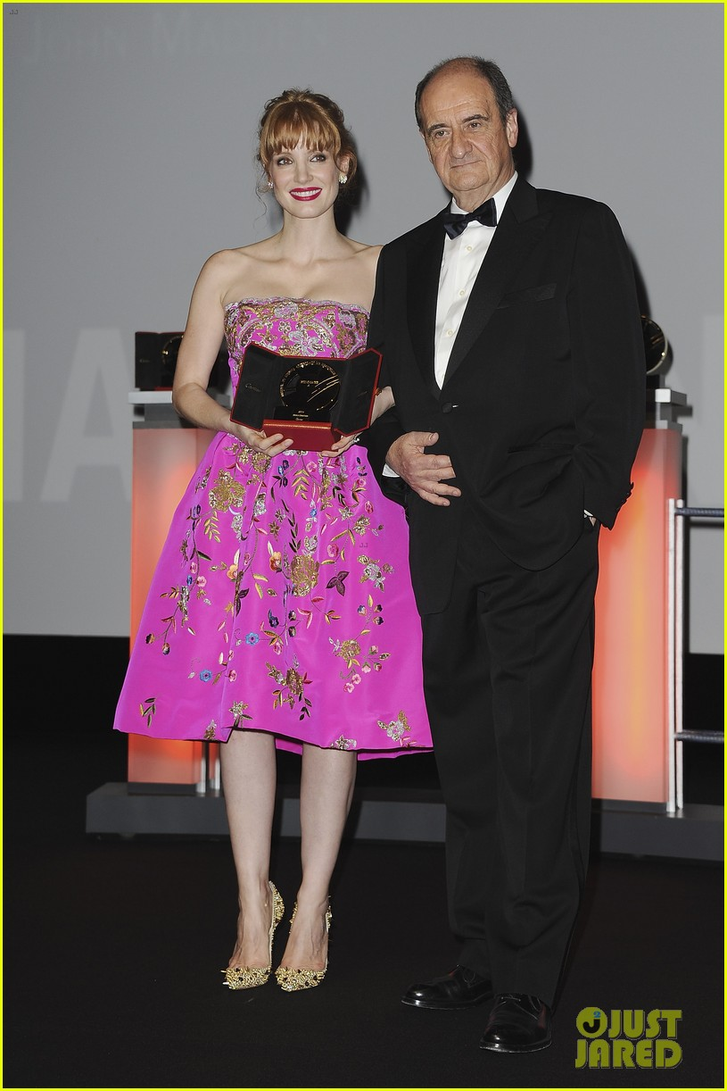 jessica chastain career honor at deauville 033190172