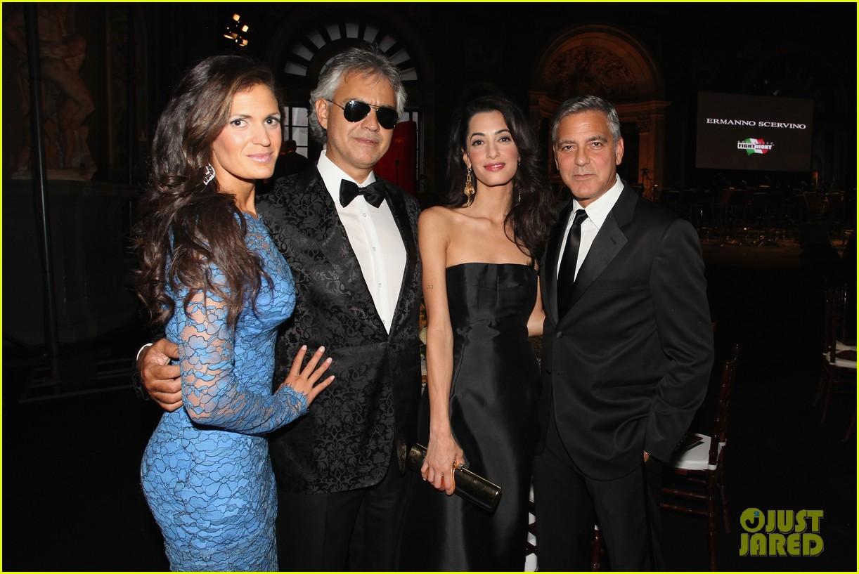 George Clooney & Fiancee Amal Alamuddin Make Red Carpet ...