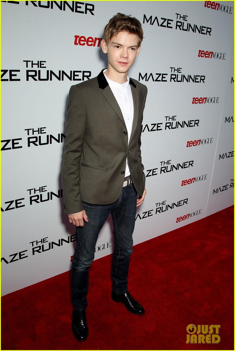 Full Sized Photo Of Dylan Obrien Maze Runner Screening Teen Vogue 18