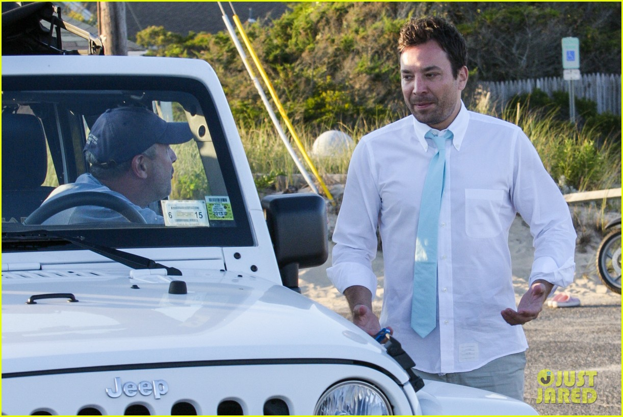 drew barrymore jimmy fallon hang in the hamptons on labor day weekend 18