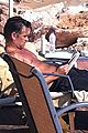 colin farrell goes shirtless soaks up the sun 02