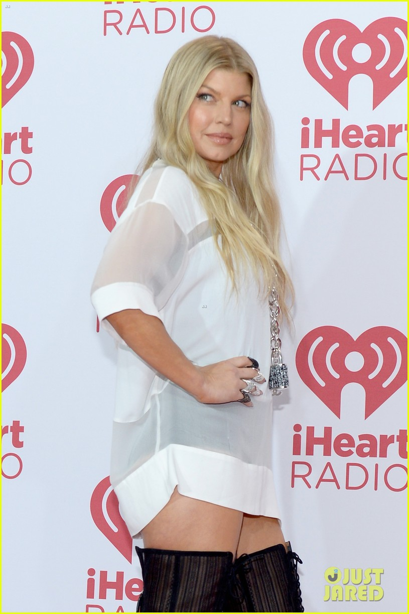 Full Sized Photo of fergie iheartradio music festival 2014 ... Fergie