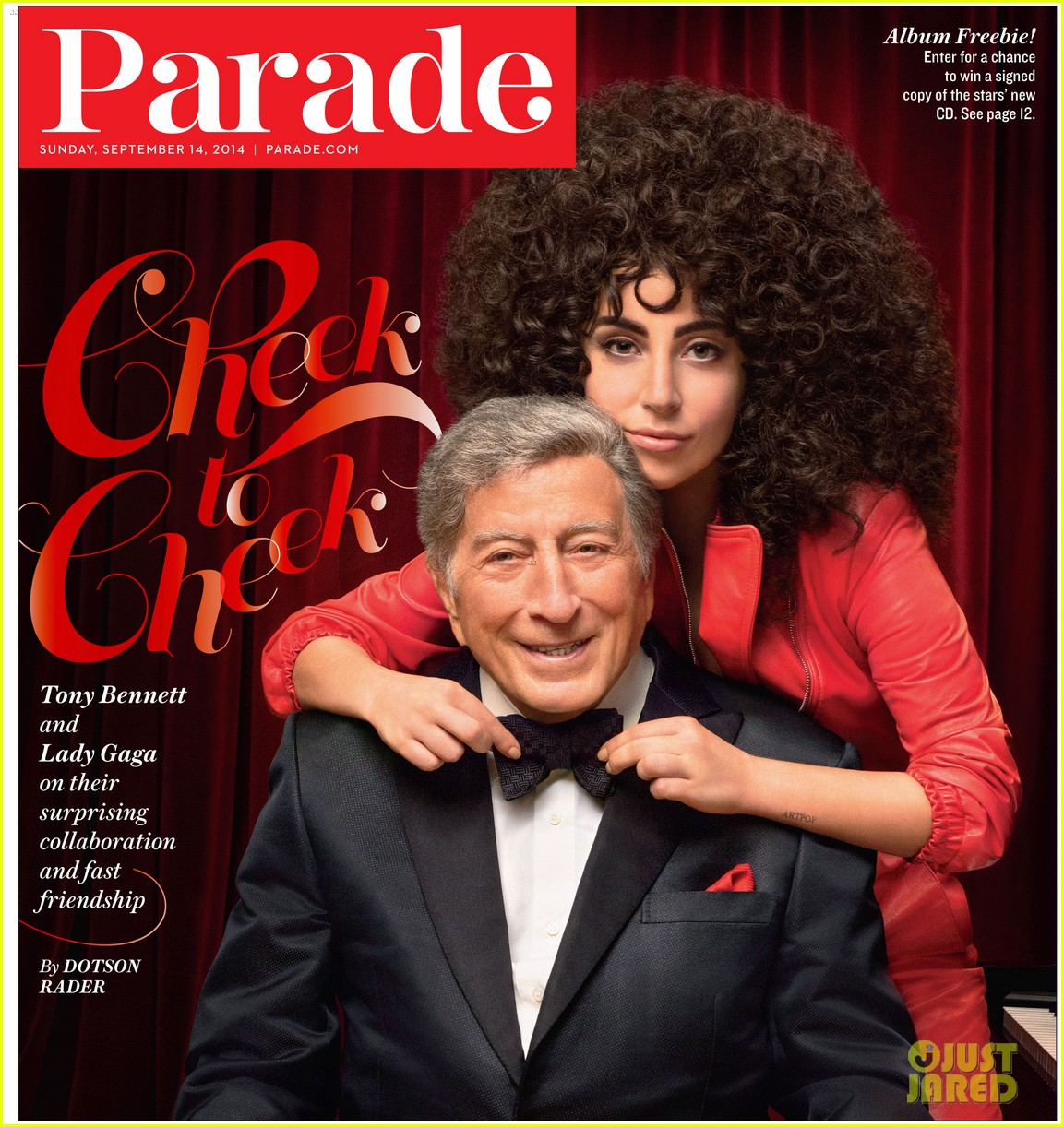 lady gaga tony bennett parade magazine