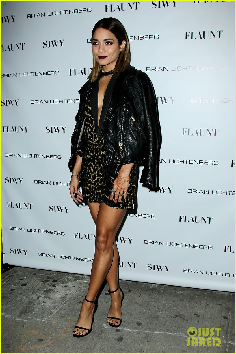 vanessa hdugens flaunt magazine party 15