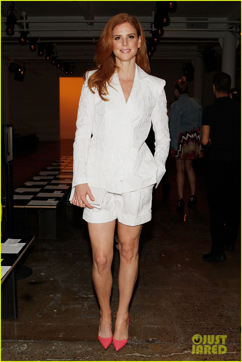 katie cassidy jessica lowndes houghton fashion show 2014 073189171