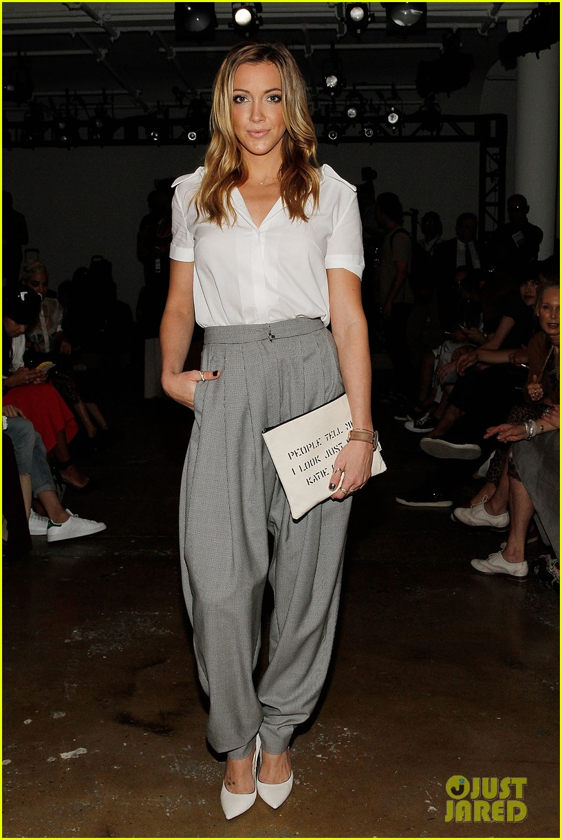 katie cassidy jessica lowndes houghton fashion show 2014 10