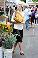 jaime king beautiful as flower at farmers market 05