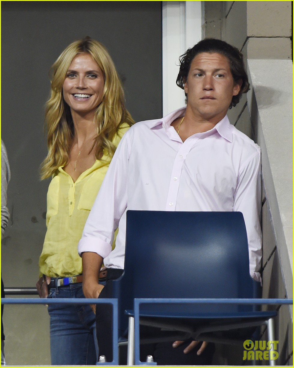 mary kate olsen heidi klum bring they significant others to us open 13