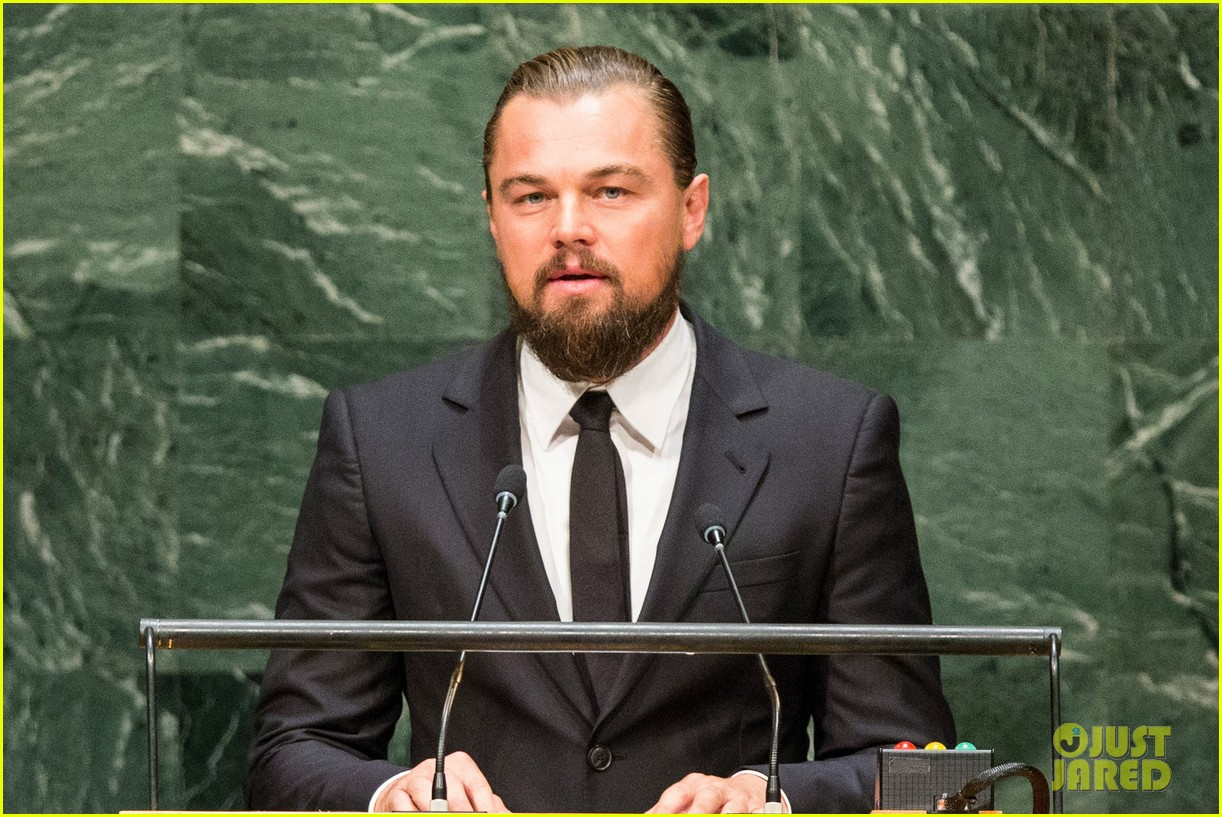 Leonardo Dicaprio S Climate Summit Speech We Only Get