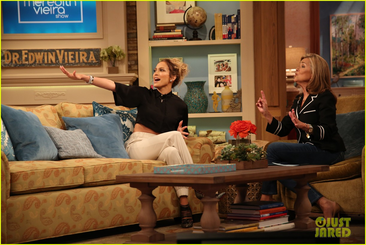 jennifer lopez plays caraoke with meredith vieira 05