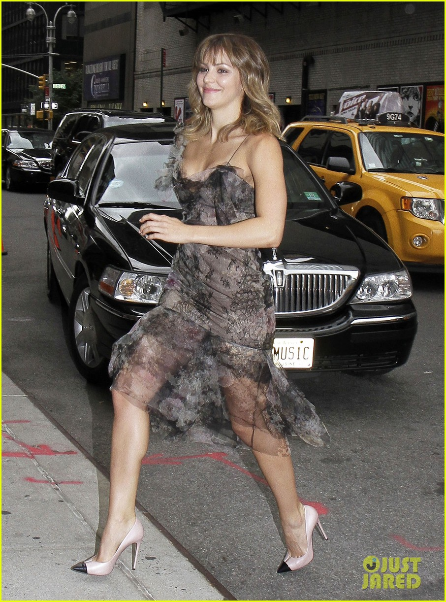 David Letterman Scares Katharine McPhee By Asking Her About Her ...