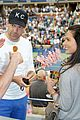 olivia munn jason sudeikis check out the us open finals 21