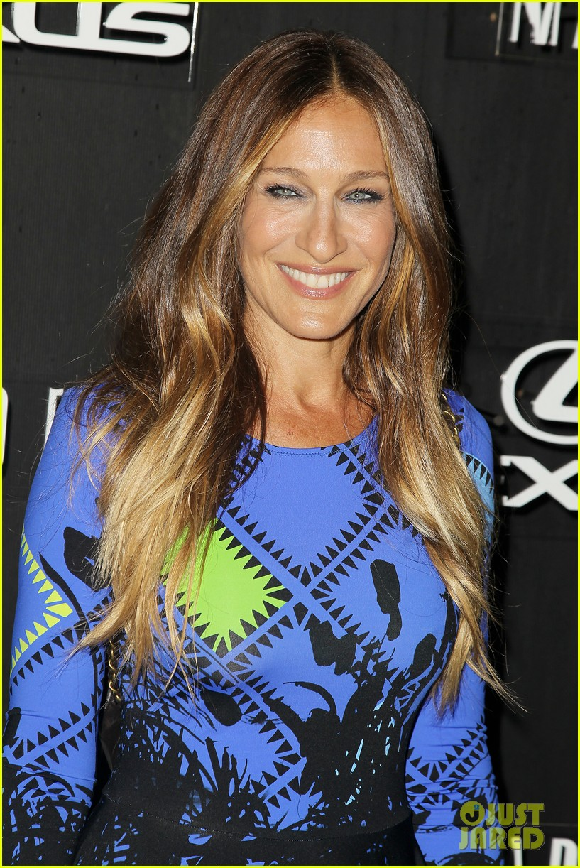 sarah jessica parker disrupts the design with lexus 18