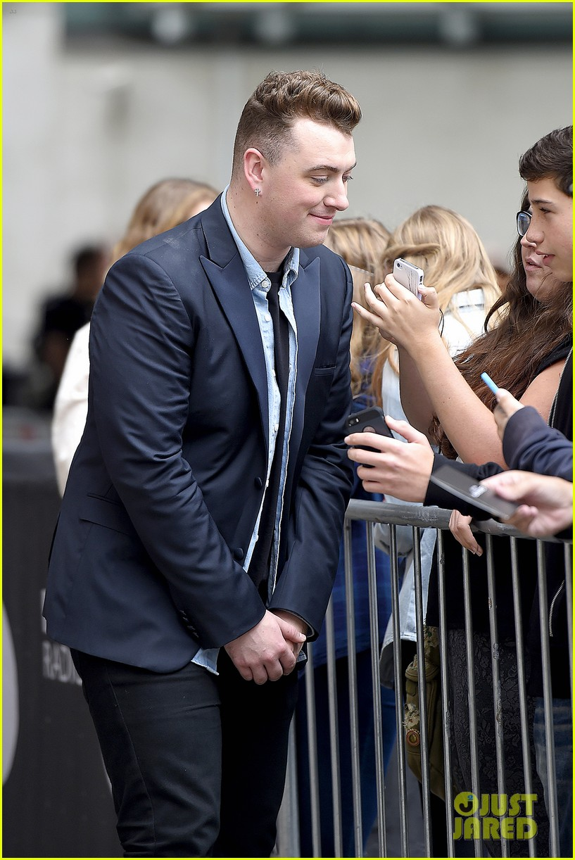sam smith bbc radio gq men year awards 14