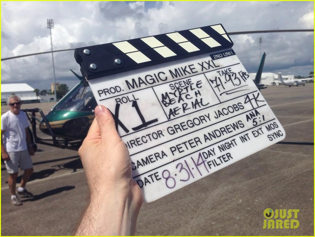 channing tatum shows off big muscles magic mike xxl filming 03