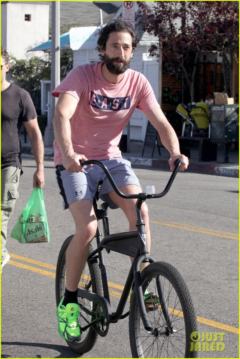 Adrien Brody & His Scruff Are Definitely Ready for No-Shave November Adrien Brody