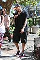 chris brown girlfriend the grove shopping 10
