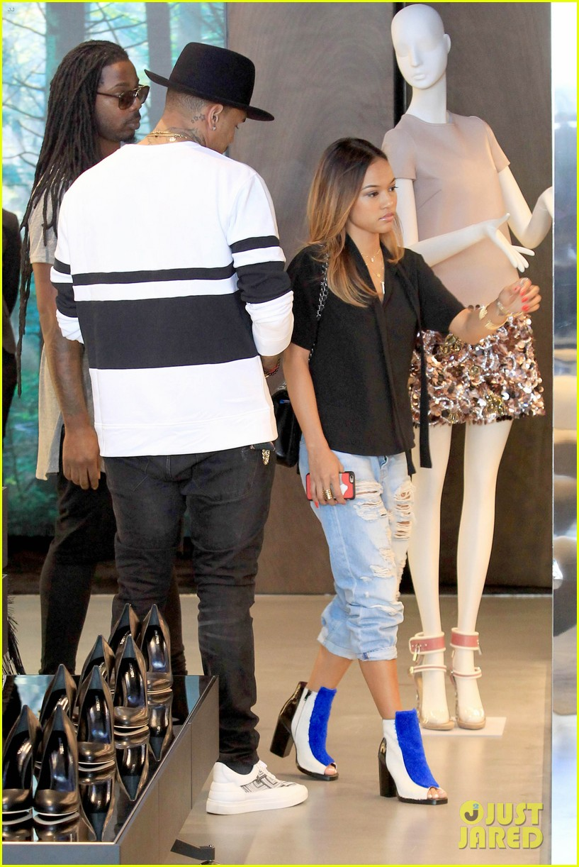 Chris Brown And Karrueche Tumblr The Image Kid Has It