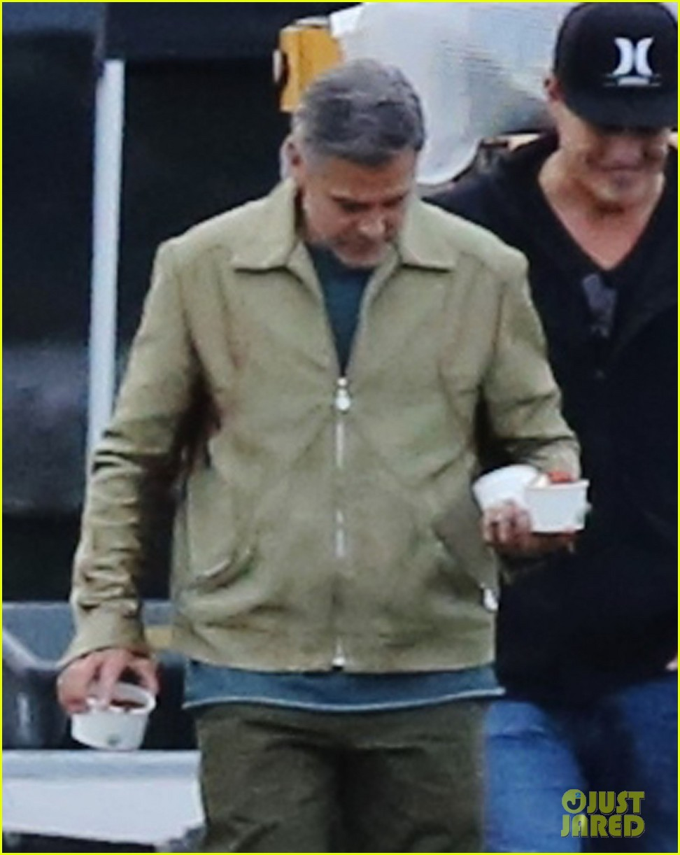 george clooney back to work after wedding 02