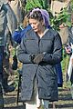 catherine zeta jones purple hairnet dads army 01