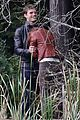 jamie dornan dakota johnson kiss in the woods 02
