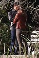 jamie dornan dakota johnson kiss in the woods 11