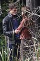 jamie dornan dakota johnson kiss in the woods 15