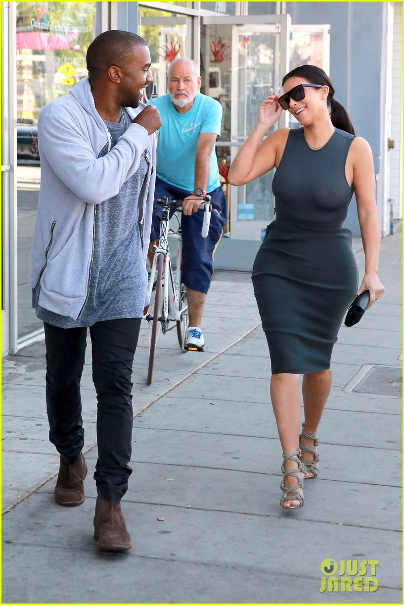 Kim Kardashian Shows Off Her Assets in a Totally Sheer Top: Photo ...