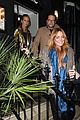 lindsay lohan fur jack dinner london 02