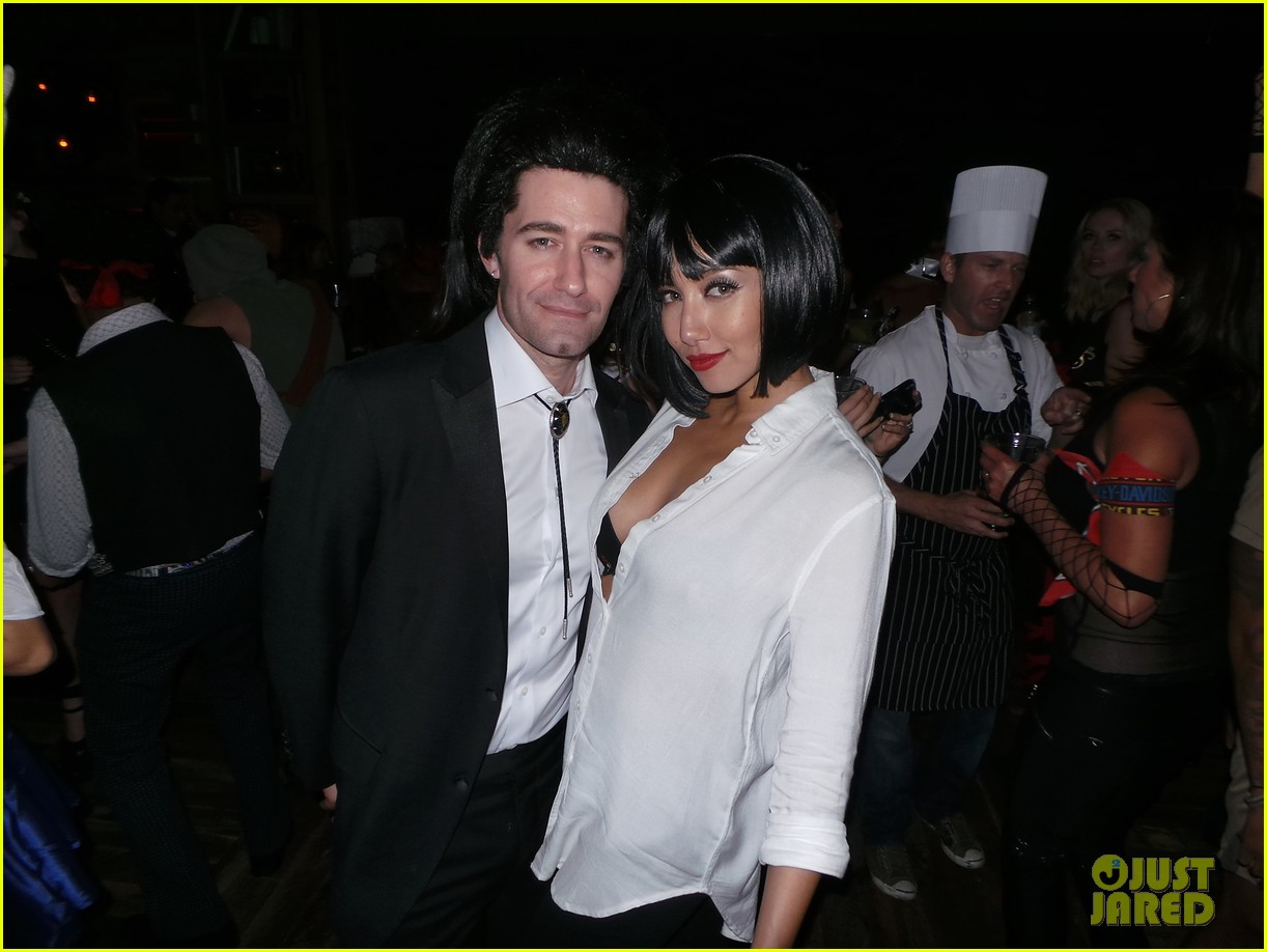 Matthew Morrison Goes 'Pulp Fiction' For His Halloween Bash: Photo ...
