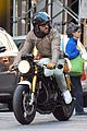 ryan reynolds handsome dad to be on motorcycle 03