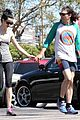 krysten ritter new boyfriend adam granduciel hit the gym 19