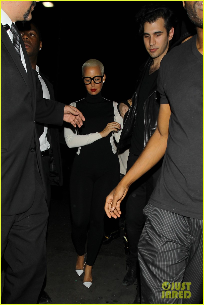 Amber Rose Grinds Up on Nick Simmons, Leaves Club with Him: Photo ...