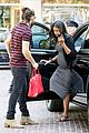 zoe saldana baby bump spotlight at brunch 16