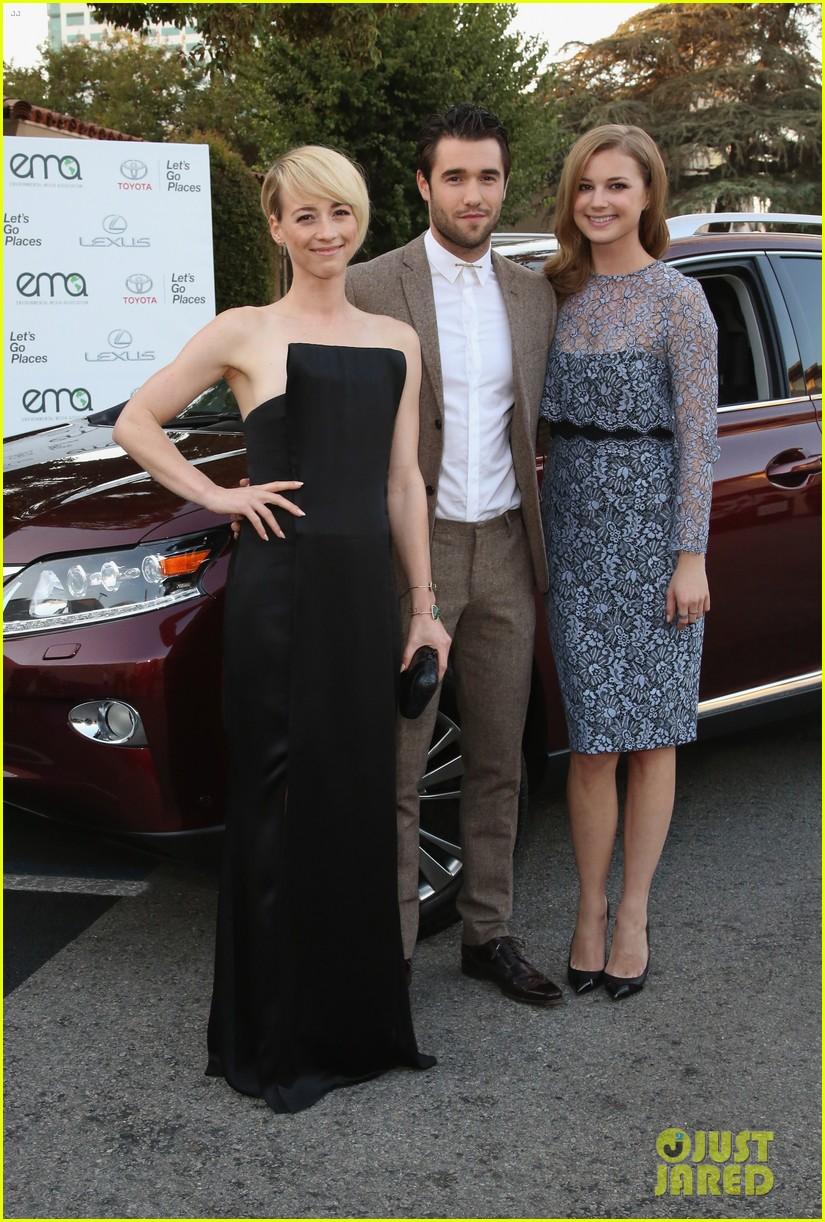 Emily VanCamp & Josh Bowman Couple Up at Environmental ...  Emily VanCamp &...