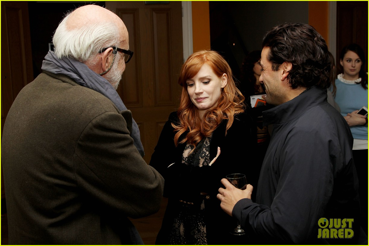 jessica chastain oscar isaac open up about bad auditions for a most violent year 07