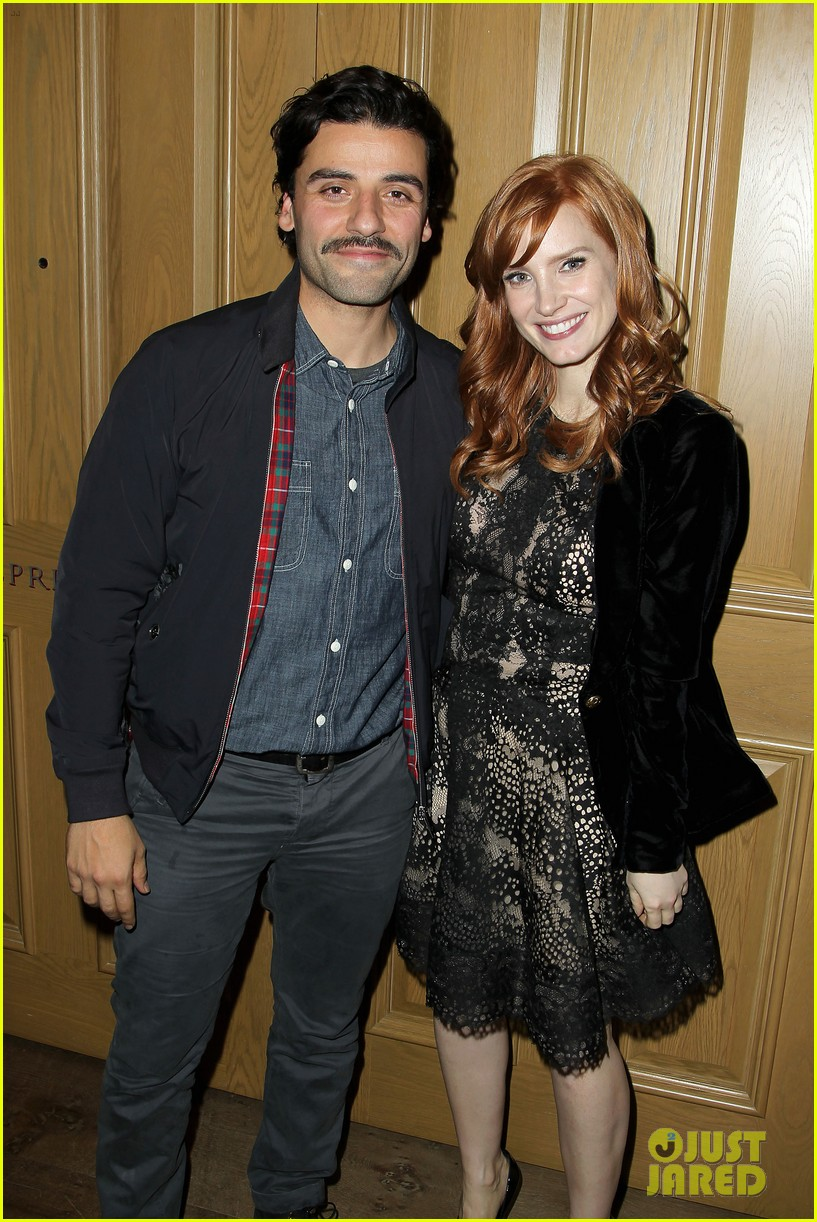 jessica chastain oscar isaac open up about bad auditions for a most violent year 183250198