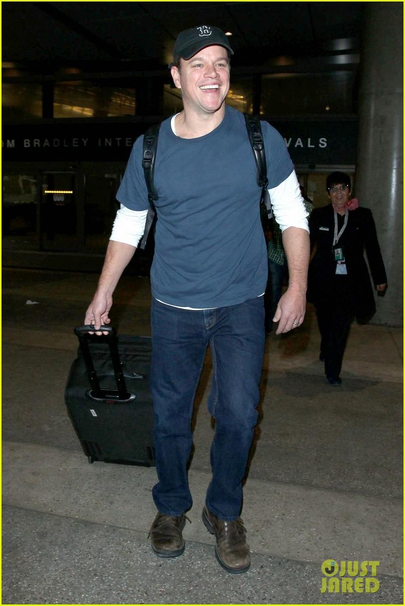 Matt Damon Brings a Little Bit of Boston Back to L.A. Matt Damon